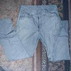 Levi Grey Pants 522 Red Tab w30 l30